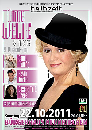 Plakat Anne Welte & Friends 8